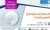دورة لطالبات الرسوم المعلوماتية (انفرجرافيك)